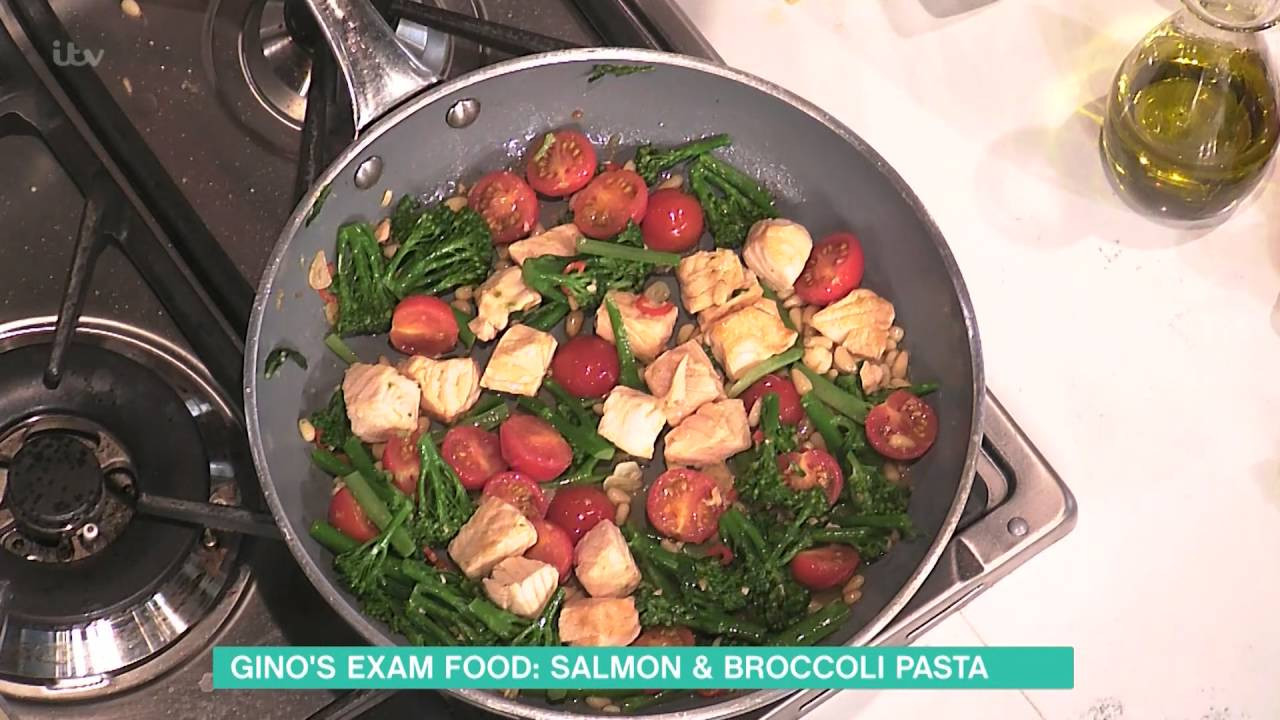 Gino D Acampo S Salmon And Broccoli Orecchiette This Morning Youtube