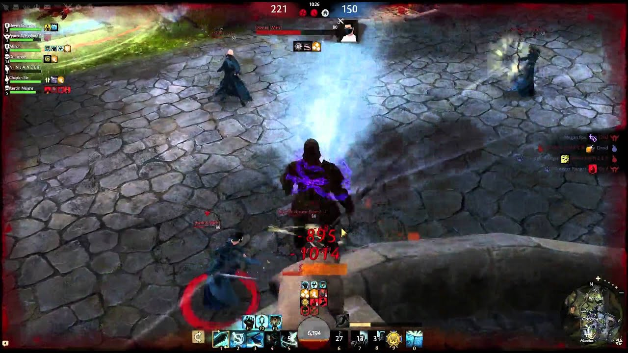 Guild Wars 2 - Guardian PvP Gameplay