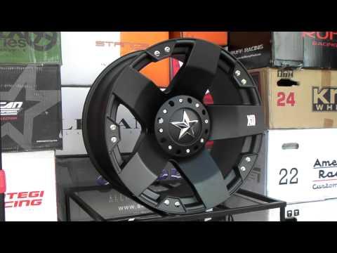 www.DUBSandTIRES.com XD Series Wheels Rockstar Matte Black 22 Inch 22x12 Offroad rims