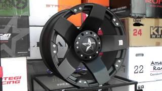 Gambar cover www.DUBSandTIRES.com XD Series Wheels Rockstar Matte Black 22 Inch 22x12 Offroad rims