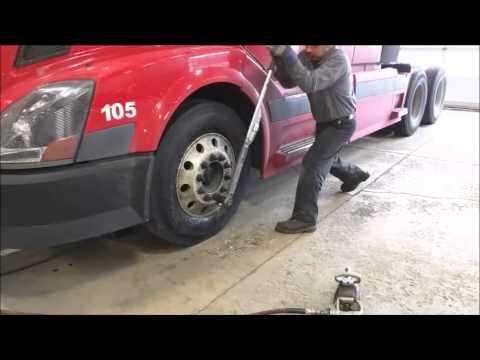 Proper Truck rim lug torquing proceedure