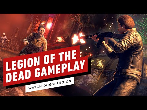 Watch Dogs: Legion of the Dead - 21 Minutes of Alpha Gameplay (1080p 60fps)