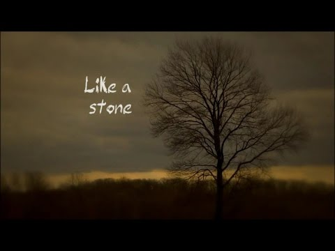 Audioslave - Like a stone LYRIC VIDEO