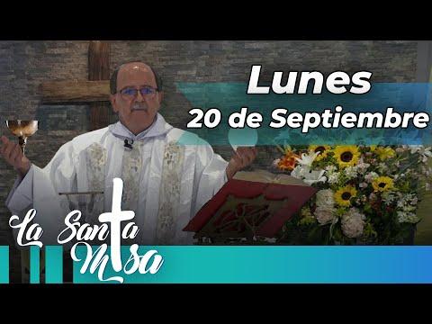 MISA DE HOY, Lunes 20 De Septiembre De 2021 - Cosmovision
