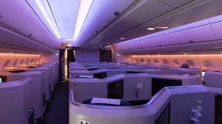 TRIP REPORT - NEW Cathay Pacific A350 BUSINESS CLASS - Vancouver to Hong Kong (CX855)