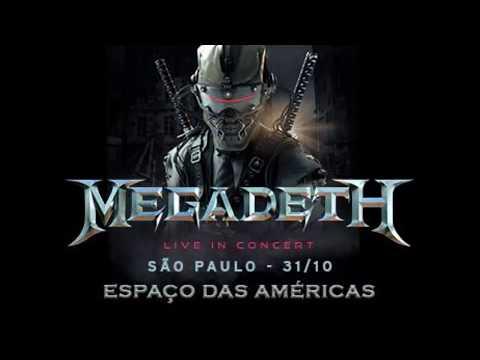 Megadeth - Espaço das Américas - 31/10/17 - São Paulo - HQ Audio - Completo