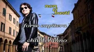 Ligabue karaoke - Piccola stella senza cielo (acustica).wmv
