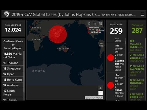 INTERACTIVE MAP: Track The Coronavirus Outbreak In Real-time