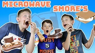 MICROWAVE S'MORES MAKER REVIEW  | Kid's Try Vat19 S'mores Maker