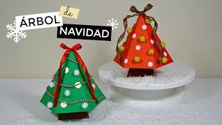 Árbol de Navidad de Papel│Espacio Creativo