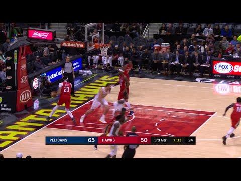 3rd Quarter, One Box Video: Atlanta Hawks vs. New Orleans Pelicans