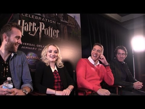 Harry Potter stars interviewed at Universal Orlando during Celebration Weekend 2014