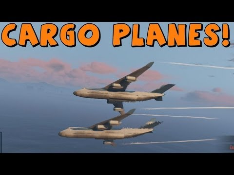 how to get the cargo plane in gta 5 online