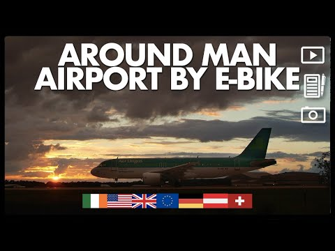 Around the Manchester Airport Orbital Cycleway by electric bike