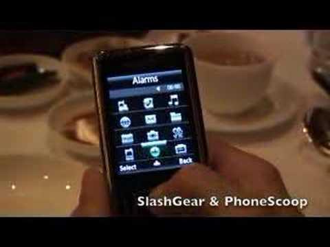 Samsung G800 Hands-on