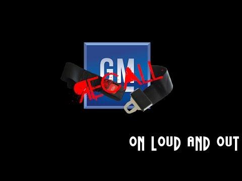 GM Seat Belt Recall