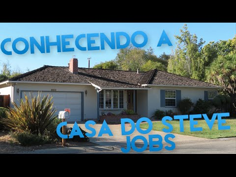 a853bd2490b Conhecendo a casa do Steve Jobs (Parte 5) - YouTube