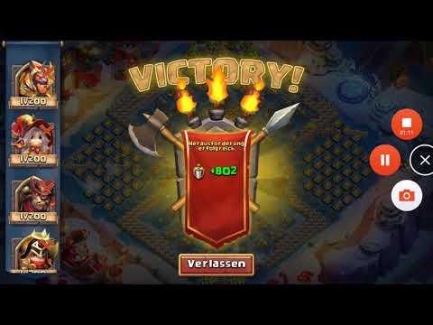GK TOP SCORE (4000+) - TOP 5 MINO BOMBING! CASTLE CLASH
