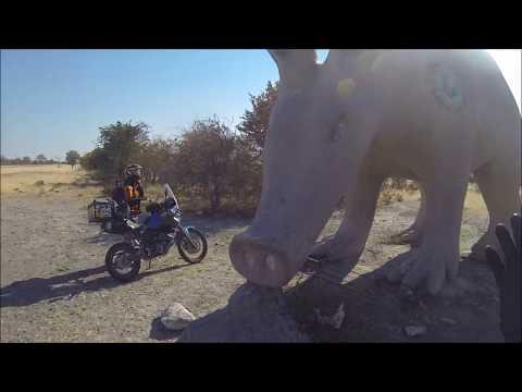 Botswana Motorcycle Adventure 2016
