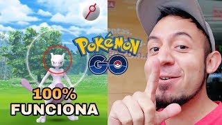 ¡COMO CAPTURAR A MEWTWO 100% EFECTIVO! - TRUCO POKÉMON GO!!