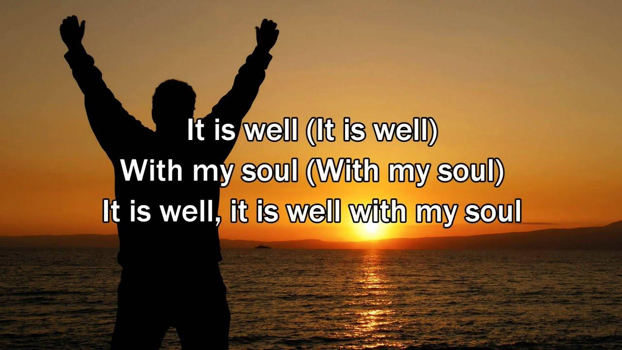It Is Well With My Soul, Matt Redman