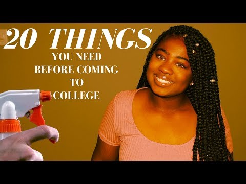 20 Things You Need Before Coming To College | Clark Atlanta University