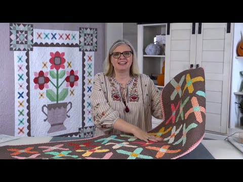 Behind the Seams: Join Kimberly for a live tutorial of Sewcialites Block 4 and more!