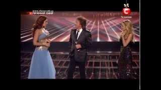 Аида Николайчук и Крис Норман   Chris Norman & Aida Nikolaychuk X Factor