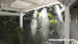 Sulu Sistem Soğutma Sistemleri, İş Yeri Bahçe Soğutma Misting System