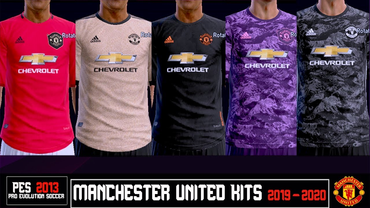 brand new a4e21 244ef PES 2013 | New Kits • Manchester United • 2019 2020
