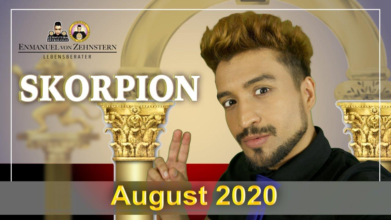 SKORPION | ASZENDENT UND STERNZEICHEN MONATSHOROSKOP AUGUST 2020