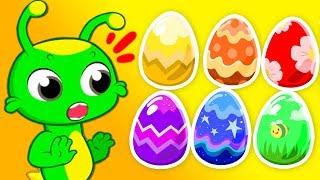 Groovy Le Martien - Chasse aux œufs de Pâques avec jouets surprises pour les enfants !
