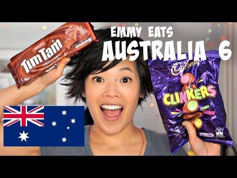 Emmy Eats Australia 6 & TimTam Slam - an American tasting more Aussie treats
