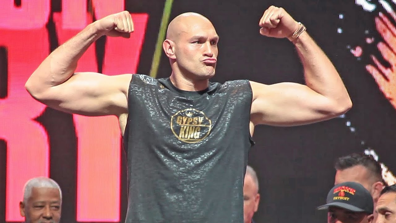 Fury Wilder 2 Weight : Deontay Wilder Vs Tyson Fury 2 The Full Weigh In Face Off Heavyweight Boxing Youtube