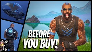 Before You Buy The ANARCHY AGENT Skin and CHAOS Glider in Fortnite!