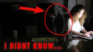 THERE'S A GHOST BEHIND ME...*not clickbait*