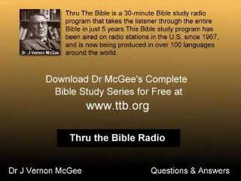 Dr J Vernon McGee Q&A - Limited Atonement