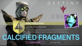 Destiny calcified fragment XLVII :Apocalypse refrains