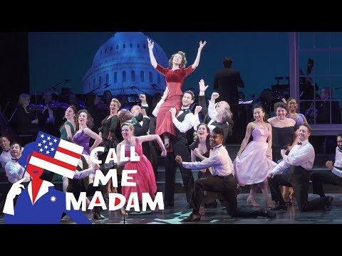 Carmen Cusack Soars In These Scenes From Call Me Madam