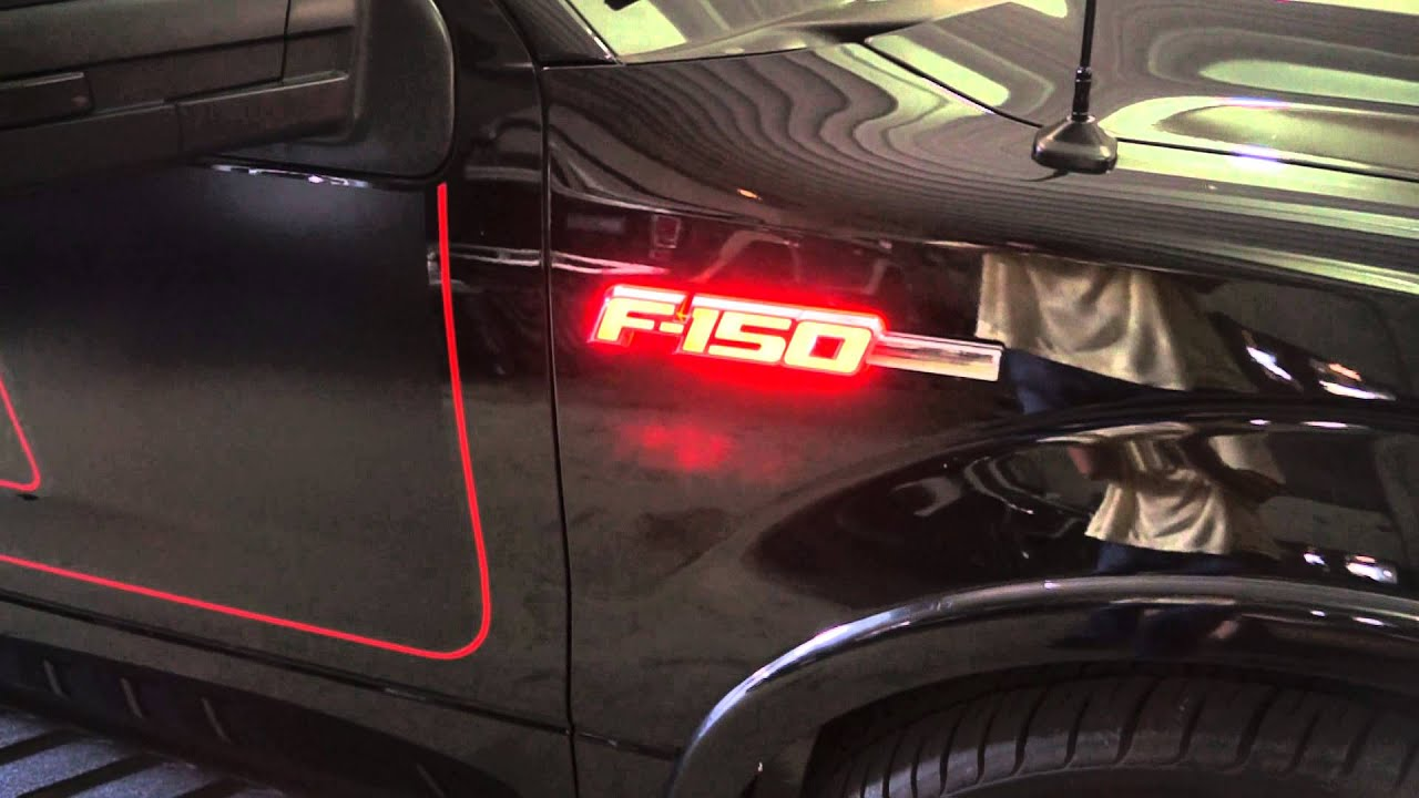 Recon Part 264282rd 09 14 Ford F 150 Illuminated Emblems