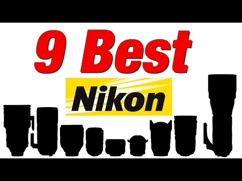 My 9 Favourite Nikon Lenses