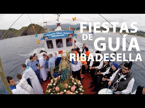 video about All the festive calendar of Ribadesella