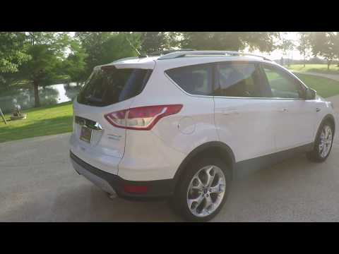 West TN 2014 Ford Escape Titanium Ecoboost Nav Sunroof leather for sale info www sunsetmotors com