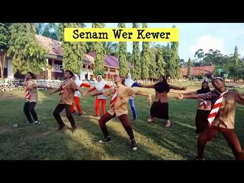 Ini dia Senam Pramuka tergokil (Senam Wer Kewer) SMA N 1 Tanjung Agung