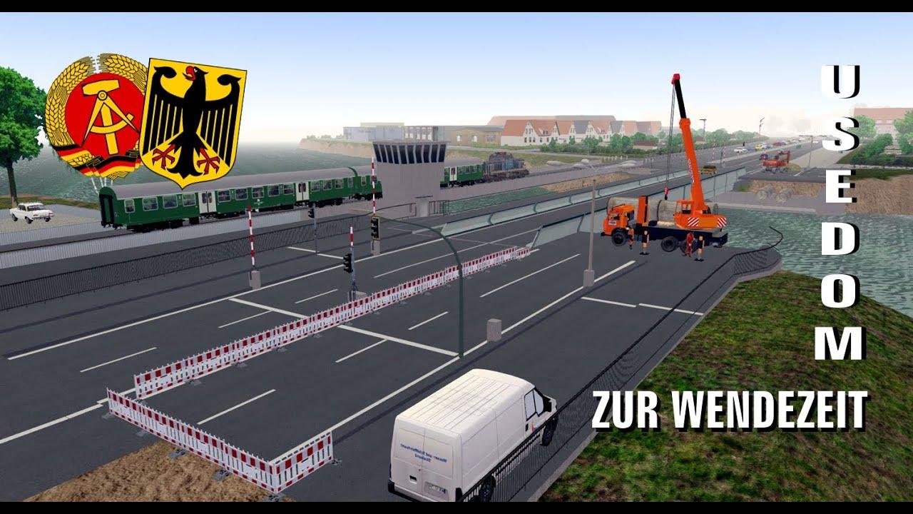 Usedom Karte Grenze.Omsi 2 Usedom Zur Wendezeit Teil 3 Linie 289 Ahlbeck Grenze Koserow