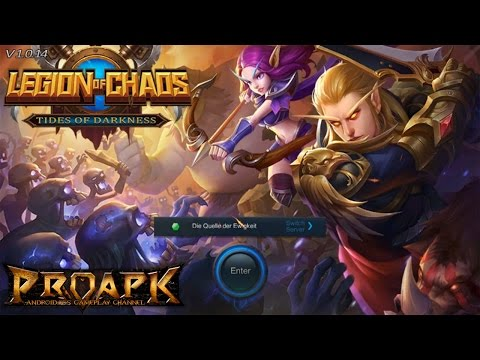 LEGION OF CHAOS Gameplay iOS / Android