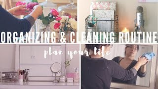 Organize & Clean Your Space 🏡 | New Year Reset 2019 | Plan Your Life Series