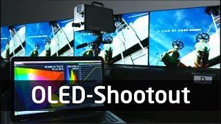 OLED Shootout 2018: LG vs. Sony vs. Philips vs. Panasonic - Wer hat das beste Bild?