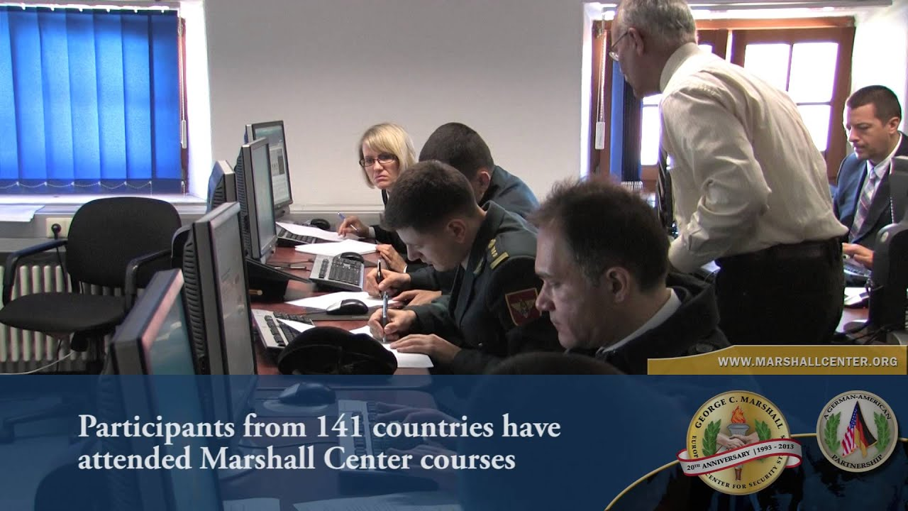 George C  Marshall Center - European Center for Security