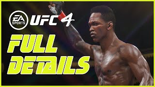 EA Sports UFC 4 FULL REVEAL DETAILS
